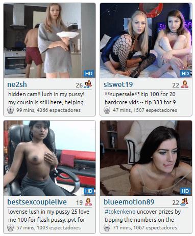 Ex novia por webcam
