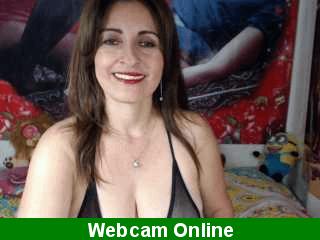 Sexy madura divorciada haciendo porno por webcam