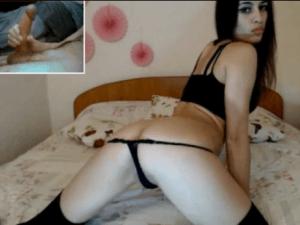 Webcamer muy Sensual enseña su Cuerpazo por Chat