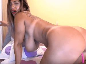 Mexicana chateando y penetrándose el culo por Cam