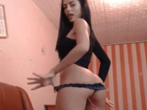Shasa la Estrella del Porno nos Regala este Show