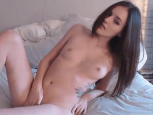 Belleza Blanca Desnuda Conecta la Webcam