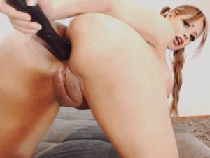 Estrella Porno Rubia Profesional Realiza Show Anal