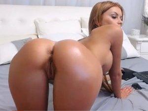 Sexy Flaca Entra al Videochat para Desestresarse