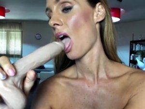 Profesora Española Porno Enseña como Chupar Pollas