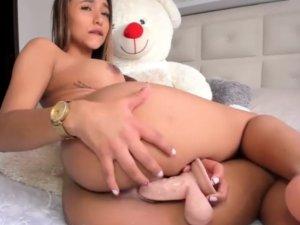 Bella Actriz Hace un Show Webcam Caliente